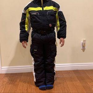 Boy's Obermeyer vintage snow suit size 6